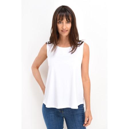 Masai Clothing Elisa Basic Top - White