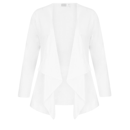 Masai Clothing Itally Basic Cardigan - White