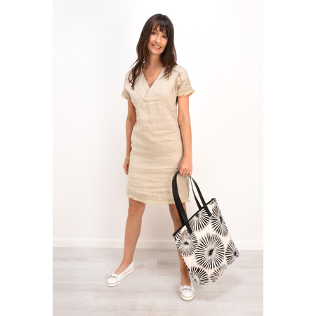 Sandwich Clothing Summer Linen Dress - Beige