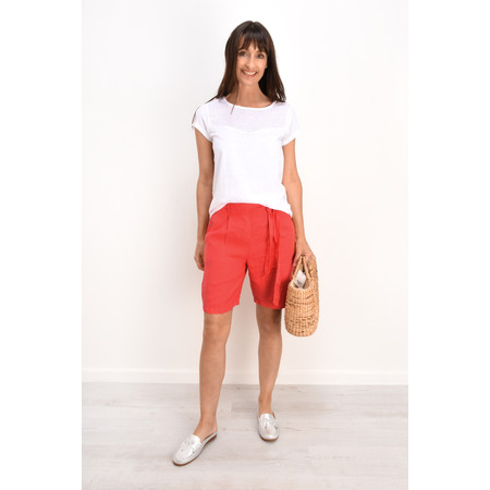 Sandwich Clothing Casual Linen Shorts - Black