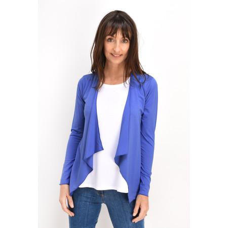 Masai Clothing Itally Basic Cardigan - Blue