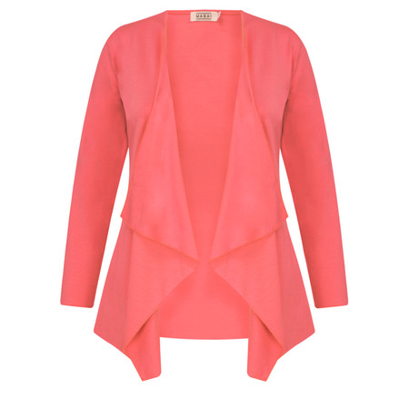 Masai Clothing Itally Basic Cardigan - Pink