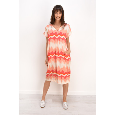Masai Clothing Odetta Dress - Pink