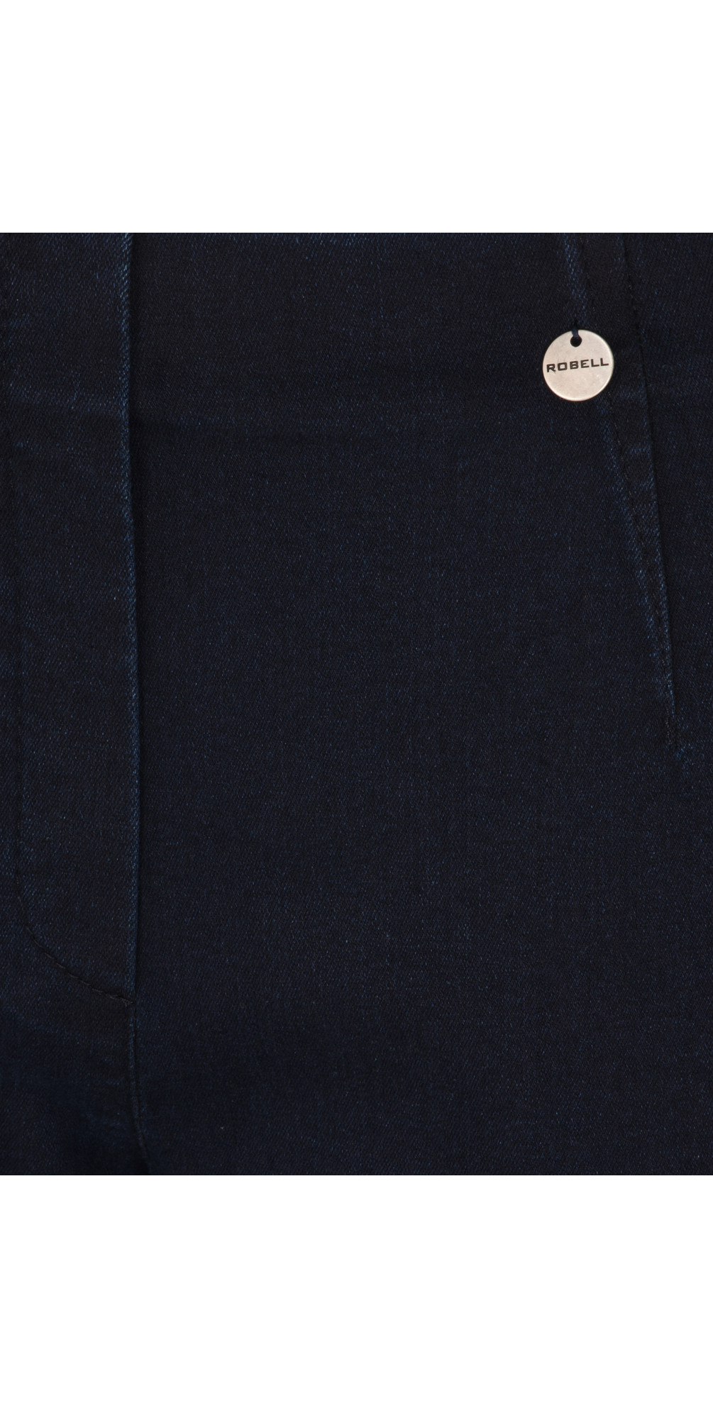 Marie Navy Power Denim Cropped Jean main image
