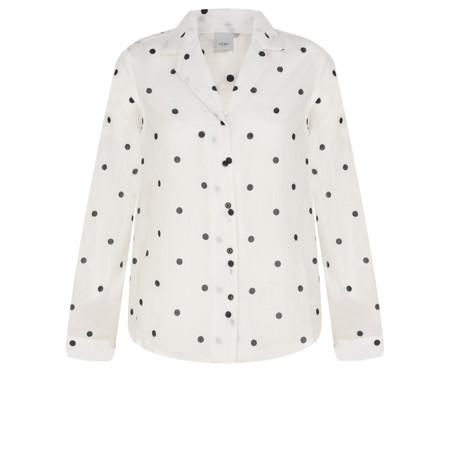 ICHI Dot Valborg Shirt - Blue