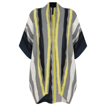 Foil Tonal Shift Kimono - Multicoloured