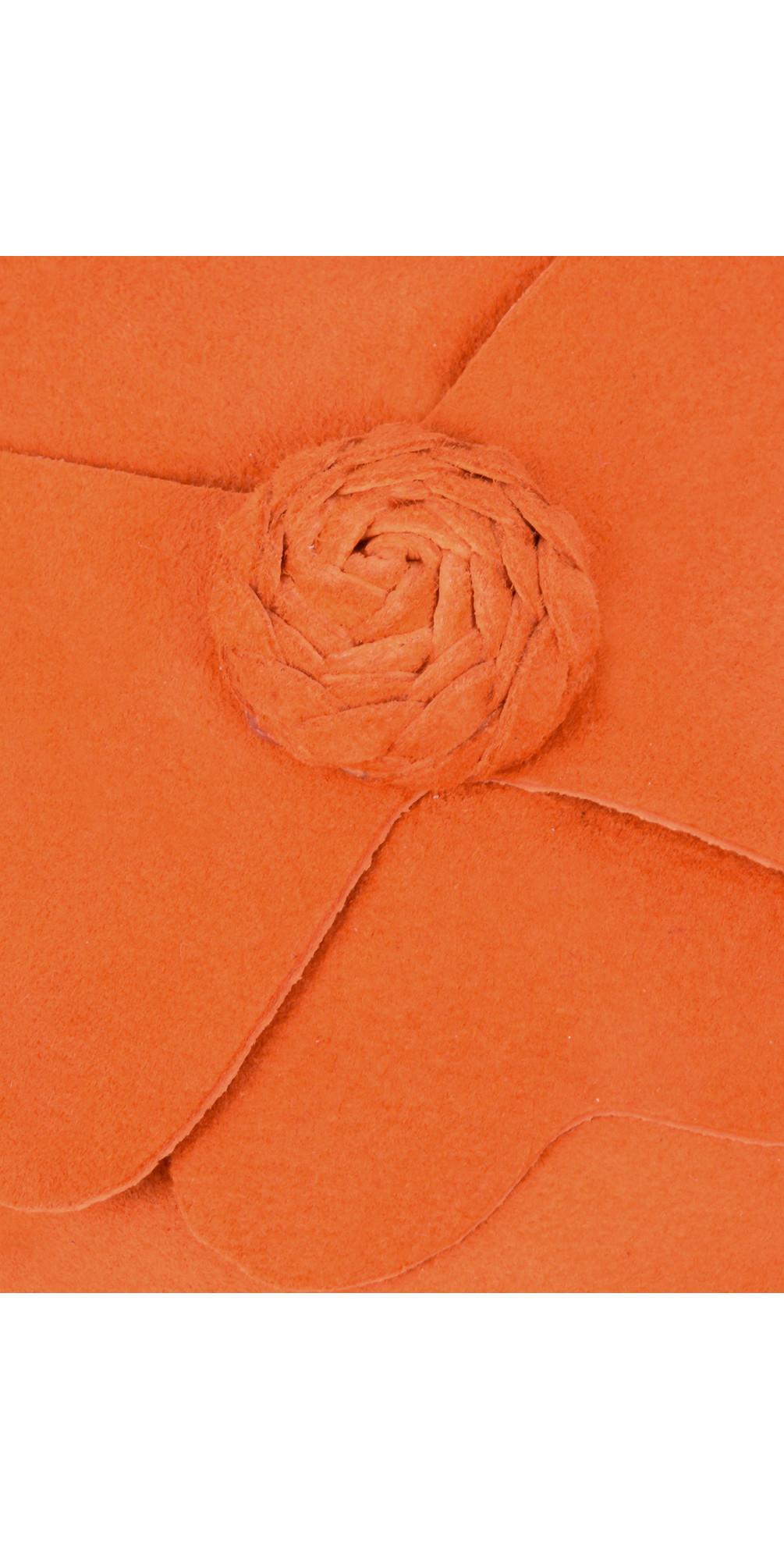 Closed Suede Flower Pump main image