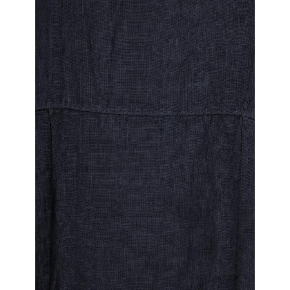 TOC Demelza Linen Dress Navy