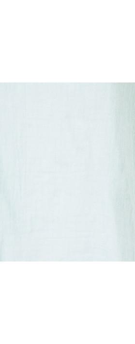 TOC Billie Linen Mix Easy Fit Top Pale Blue