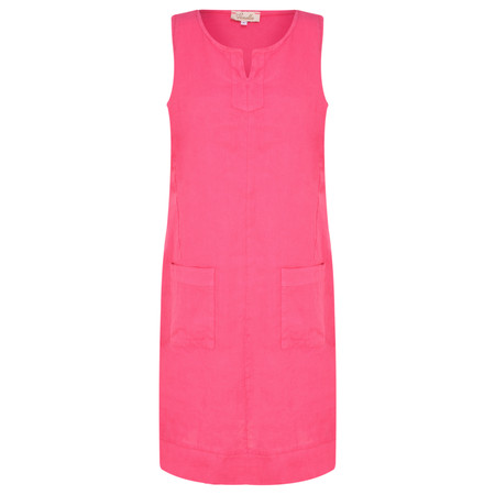 Fenella  Laural Easy Fit Sleeveless Dress - Purple