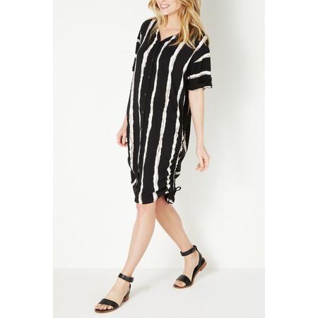 Sandwich Clothing Striped Blouse - Black