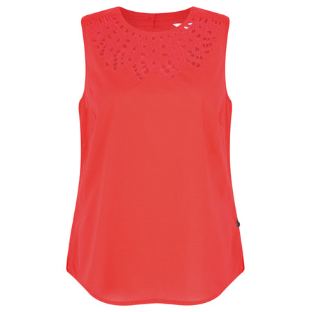 Sandwich Clothing Crochet Style Top - Pink