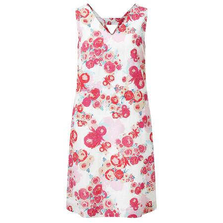 Adini Windsor Linen Alma Dress - Pink