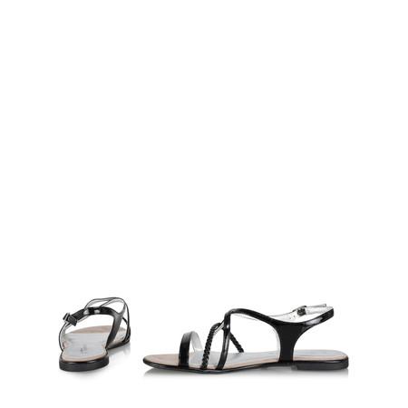 Tamaris  Cindy Strappy Flat Sandal - Black