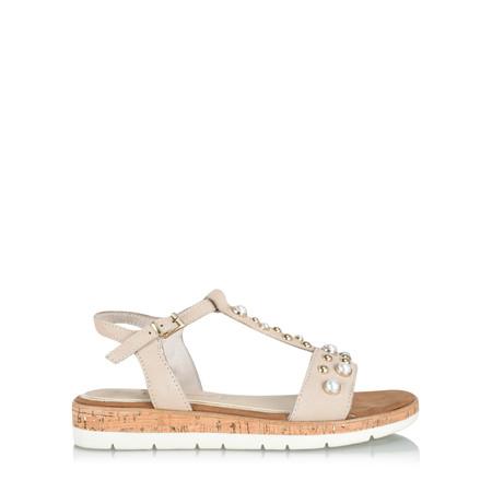 Marco Tozzi Venus Pearly Sandal - Beige