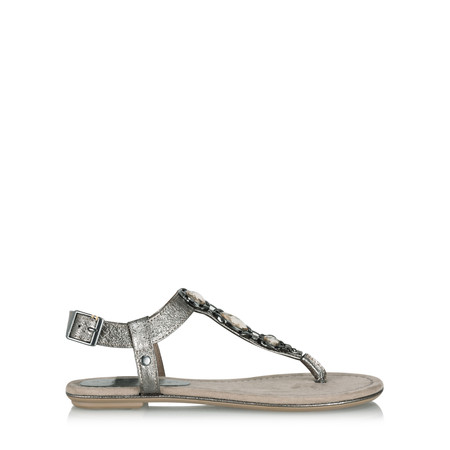 Marco Tozzi Carlie Metallic Sandal - Metallic