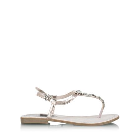 Marco Tozzi Harriet Metallic Sandal - Metallic
