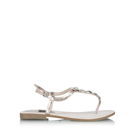 Marco Tozzi Harriet Metallic Sandal - Pink