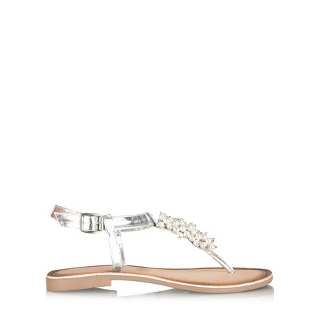 Marco Tozzi Lucille Pearly Sandal - Metallic