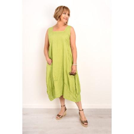 TOC  Demelza Linen Dress - Green
