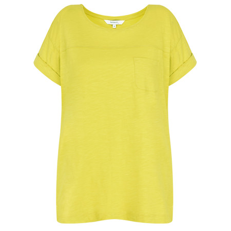 Sandwich Clothing Top Pocket T-shirt Top - Green