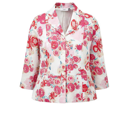 Adini Windsor Linen Riverside Jacket - Pink