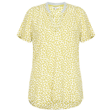 Sandwich Clothing Butterfly Print Blouse - Green