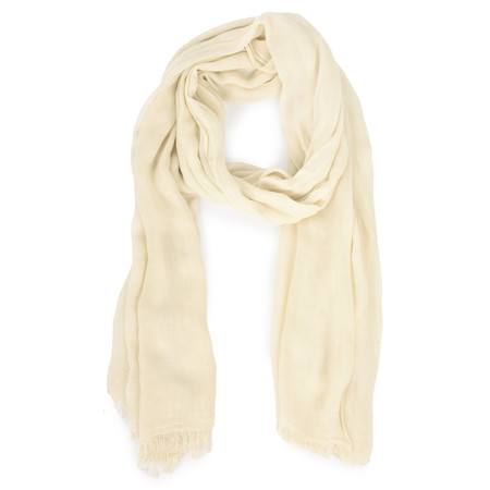 Sandwich Clothing Solid Viscose Woven Scarf - Brown