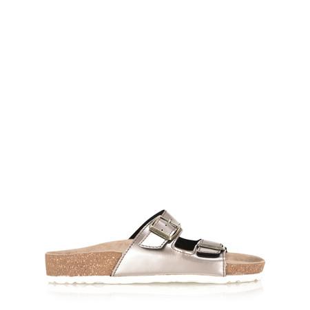 Marco Tozzi Ariana Mirror Metallic Sandal - Bronze