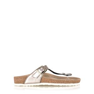 Marco Tozzi Greta Mirror Metallic Sandal