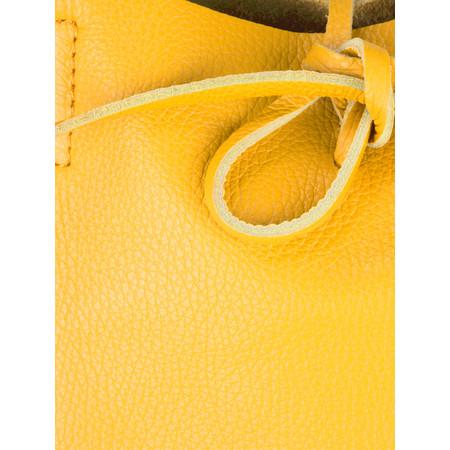 Gemini by PWA  Ribera Leather Tote Bag  - Yellow