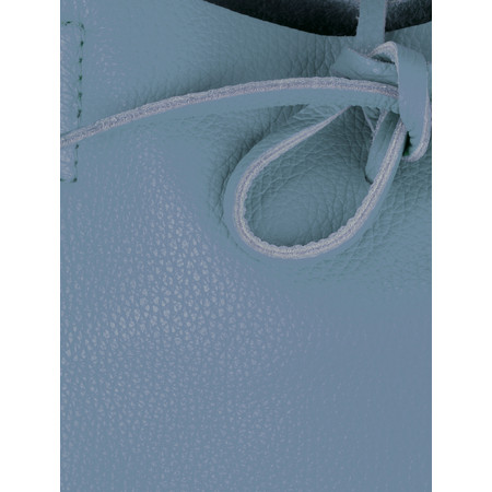 Gemini Label Ribera Leather Tote Bag  - Blue