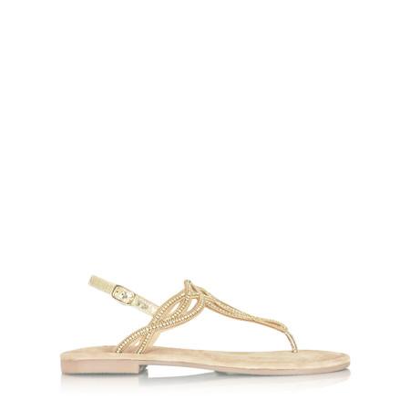 Tamaris  Asana Crystal Sandal - Gold