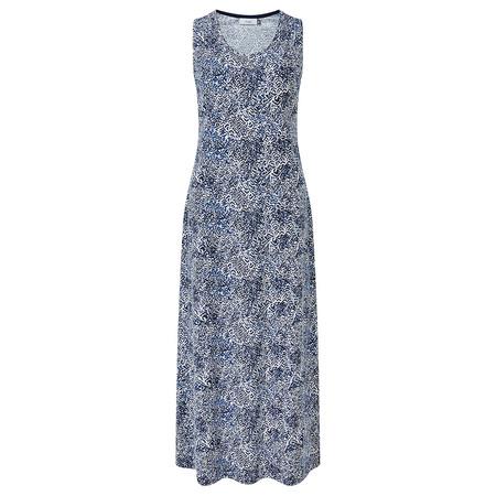 Adini Sumatra Print Chrissy Dress - Blue