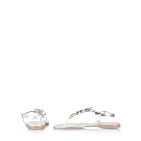 Marco Tozzi Eda Crystal Sandal - Metallic