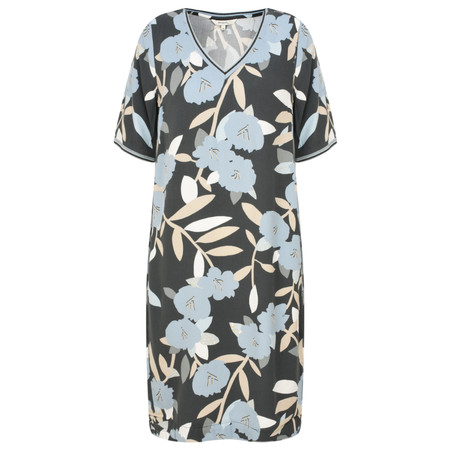 Sandwich Clothing Bold Floral Print Dress - Grey