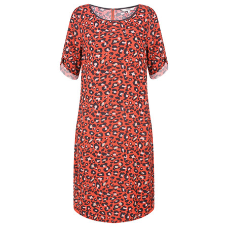 Sandwich Clothing Leopard Print Dress - Red
