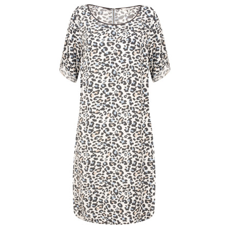 Sandwich Clothing Leopard Print Dress - White