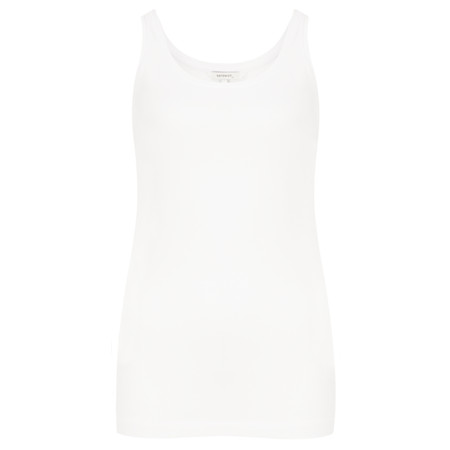Sandwich Clothing Organic Cotton Vest - White