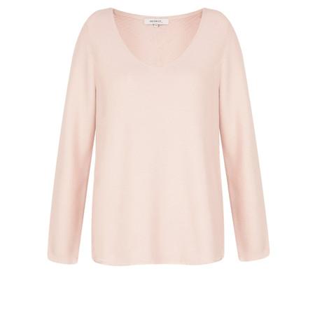 Sandwich Clothing Textured V-neck Jumper - Pink