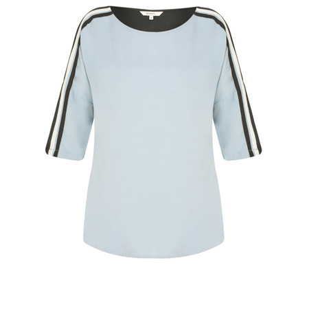 Sandwich Clothing Two Tone Blouse - Blue