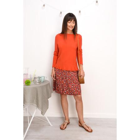 Sandwich Clothing Leopard Print Skirt - Red
