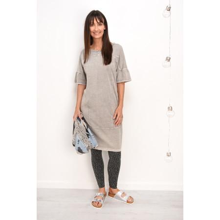 Sandwich Clothing Leopard Print Leggings - Grey