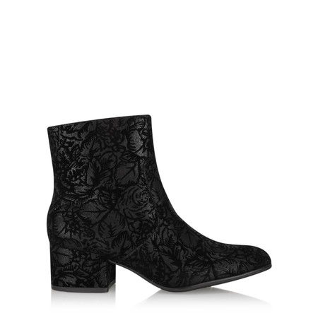 Marco Tozzi Nadine Brocade Ankle Boot - Black
