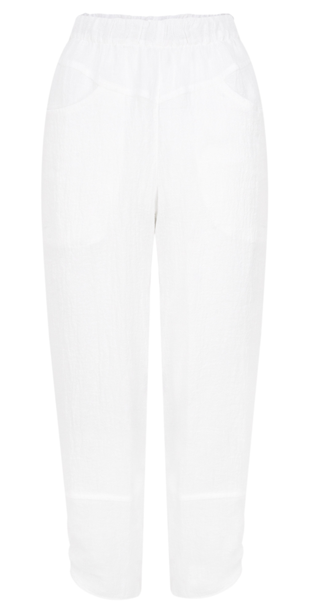 Cropped Linen Trousers main image