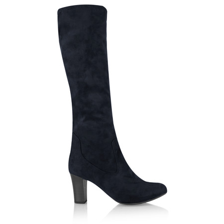 Caprice Footwear Aliz Long Stretch Boot - Blue