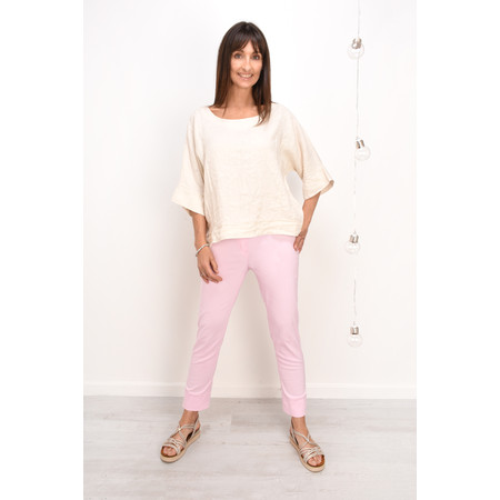 Robell Trousers Bella 7/8 Ankle Length Trouser - Pink