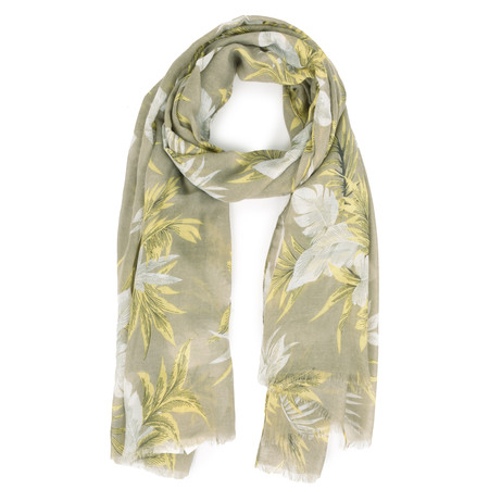 Soyaconcept Taban Printed Scarf - Green