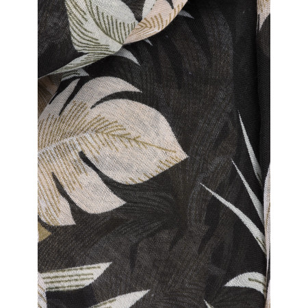 Soyaconcept Taban Printed Scarf - Black