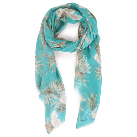 Soyaconcept Taban Printed Scarf - Blue